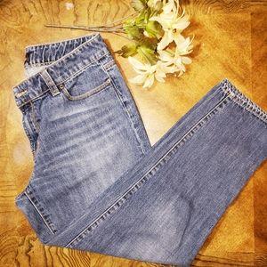Talbots flawless five pocket denim jeans 10P